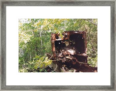 Punkhorn Car Framed Print by David Fiske