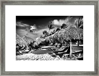 Punta Cana Choices Framed Print by John Rizzuto