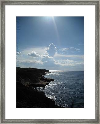 Framed Print featuring the photograph Punta Marchaquita by Daniel Sheldon