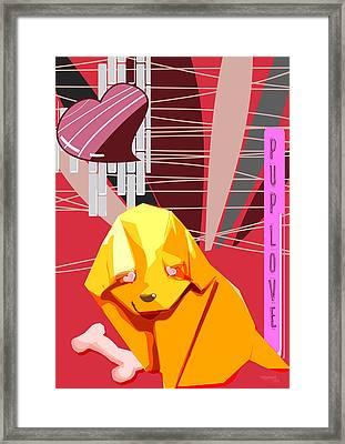 Puplove Framed Print by Trishagni Naik