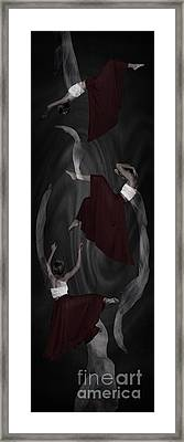 Puppet Dancer Framed Print by Andrea Aycock