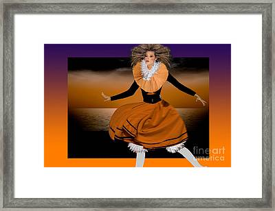 Puppet Show Framed Print by Angelika Drake