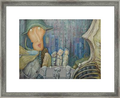 Puppet Theatre Framed Print by Slobodan Loncarevic