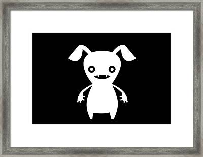 Puppy Boo Framed Print