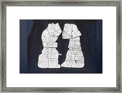 Puppy Love Framed Print by Christi Kraft