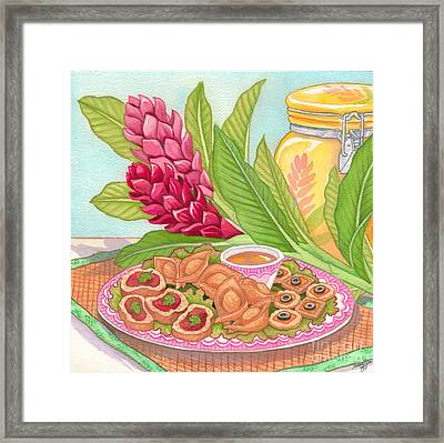 Pupus Framed Print by Tammy Yee