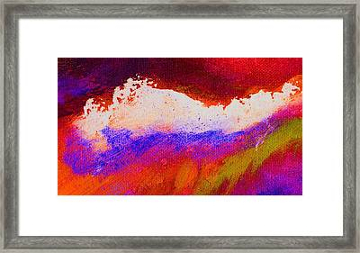 Pura Golden Framed Print by L J Smith