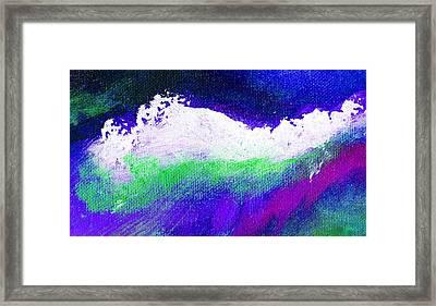 Pura Purple Framed Print by L J Smith