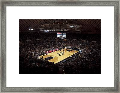 Purdue Boilermakers Mackey Arena Framed Print by Replay Photos