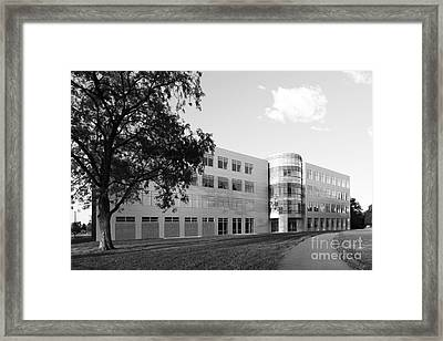 Purdue University Discovery Learning Center Framed Print by University Icons
