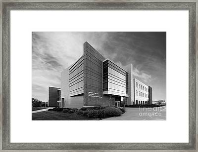 Purdue University Jischke Hall Of Biomedical Engineering Framed Print by University Icons