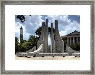 Purdue University Mall Framed Print by Coby Cooper