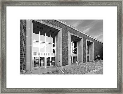 Purdue University Stewart Center Framed Print by University Icons