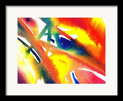 Glides Paintings Framed Prints
