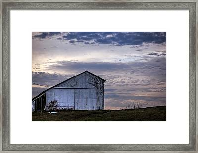 Framed Print featuring the photograph Pure Country by Sennie Pierson