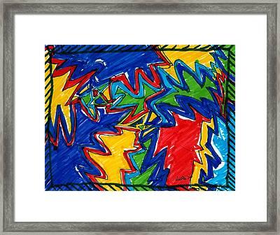 Pure Emotion Framed Print by Lesa Weller