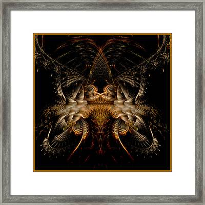 Framed Print featuring the digital art Pure Epic Render by Melissa Messick