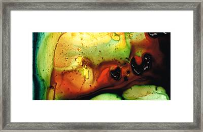 Pure Fulfillment Abstract Art By Sharon Cummings Framed Print by William Patrick