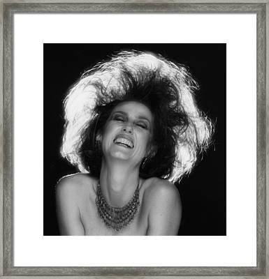 Framed Print featuring the photograph Pure Joy by Mark Greenberg