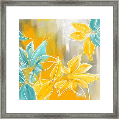 Pure Radiance Framed Print