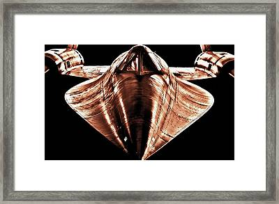 Pure Speed Framed Print by Benjamin Yeager