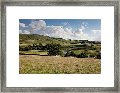 Pure Yorkshire Framed Print