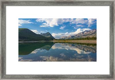 Purely Alberta Framed Print by Laura Bentley