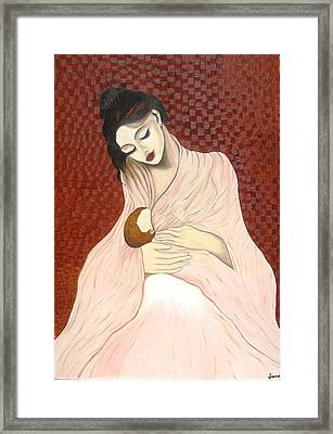 Purest Form Of Love Framed Print by Rejeena Niaz