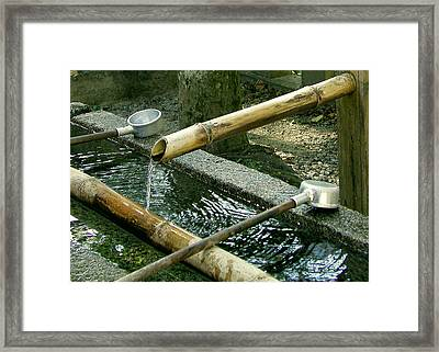 Purification Framed Print by Jean Hall