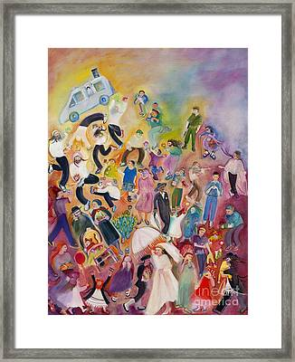 Purim Framed Print by Chana Helen Rosenberg
