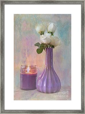 Purity Framed Print by Betty LaRue