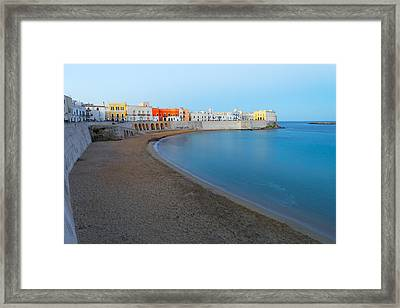 Framed Print featuring the photograph Gallipoli  - Purity by Francesco Emanuele Carucci