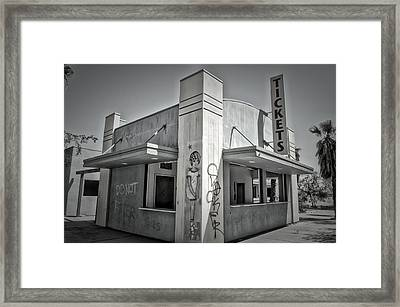 Purity In The Ruins Framed Print