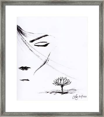 Purity Framed Print by Len YewHeng