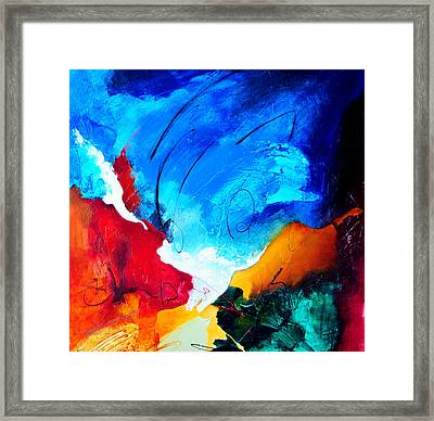 Purity Of Joy Framed Print by Jacek  Ungierat - Jung