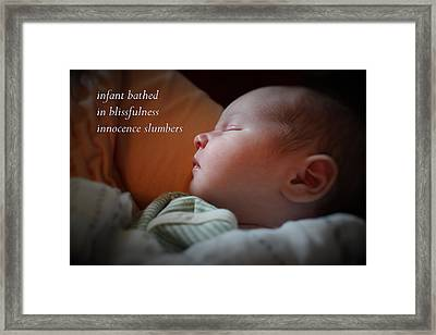 Innocence Framed Print by Scott Kingery