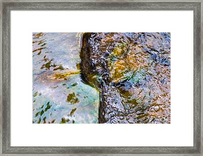 Purl Of A Brook 2 - Featured 3 Framed Print by Alexander Senin