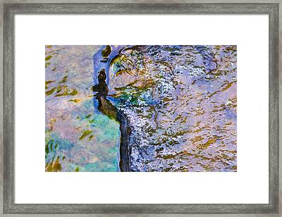 Purl Of A Brook 3 - Featured 3 Framed Print by Alexander Senin