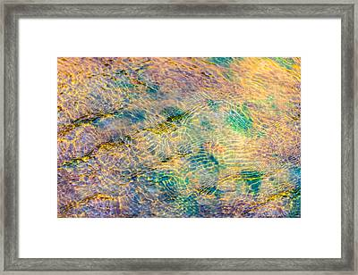 Purl Of A Brook 4 - Featured 3 Framed Print by Alexander Senin