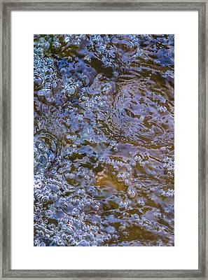 Purl Of A Brook Framed Print by Alexander Senin