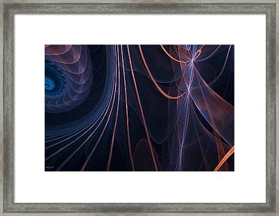 Purple Ablaze Framed Print by Lourry Legarde