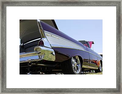 Framed Print featuring the photograph Purple And Sexy by Shoal Hollingsworth