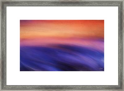 Purple Beauty Framed Print by Lourry Legarde