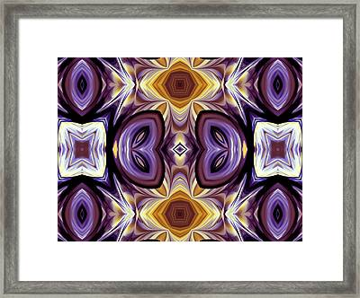 Purple Boudoir Framed Print by Georgiana Romanovna