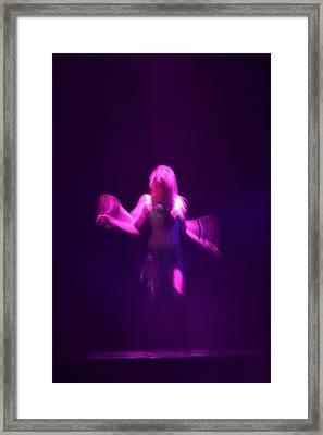 Purple Dancer Framed Print by Brad Scott