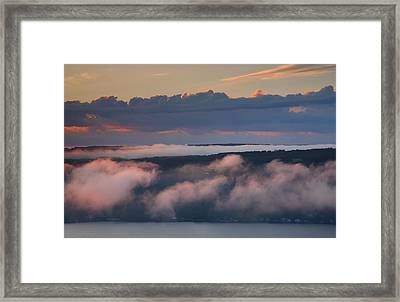 Purple Dawn Framed Print by Steven Ainsworth