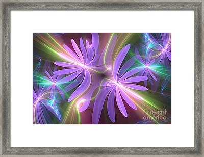 Purple Dream Framed Print by Svetlana Nikolova