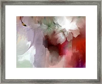 Purple Glow Framed Print