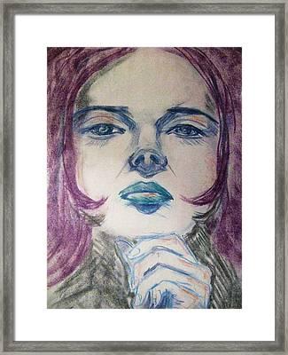 Purple Haze Framed Print by Agata Suchocka-Wachowska