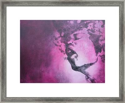 Purple Haze Framed Print by Bitten Kari